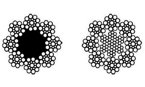 Ocelové lano 8x19S