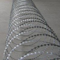 Oplocení žiletkový drát