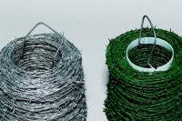 Oplocení ostnatý drát